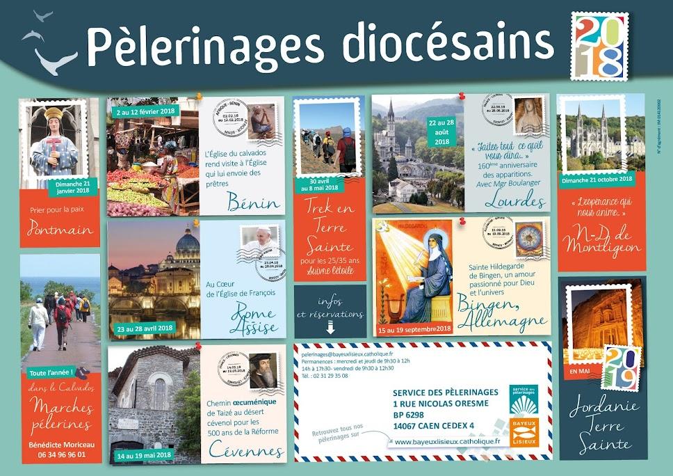 Pèlerinages diocésains Bayeux-Lisieux