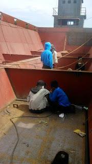 Lolos Kualifikasi, 4 Pemuda Kerja Di Galangan Kabal Baja
