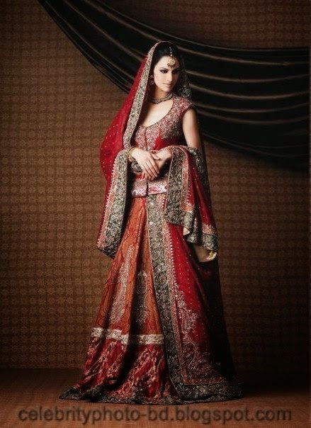 Girls+in+Weddings+and+Bridal+Dressing+Latest+New+Collection015