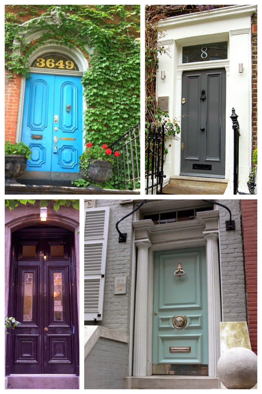 What color is your front door? | Brooklyn Limestone