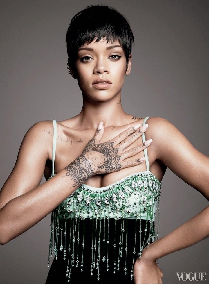 Rihanna Vogue April 2014