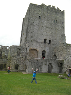 norman keep ruined castle