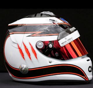 Il casco di Max Chilton