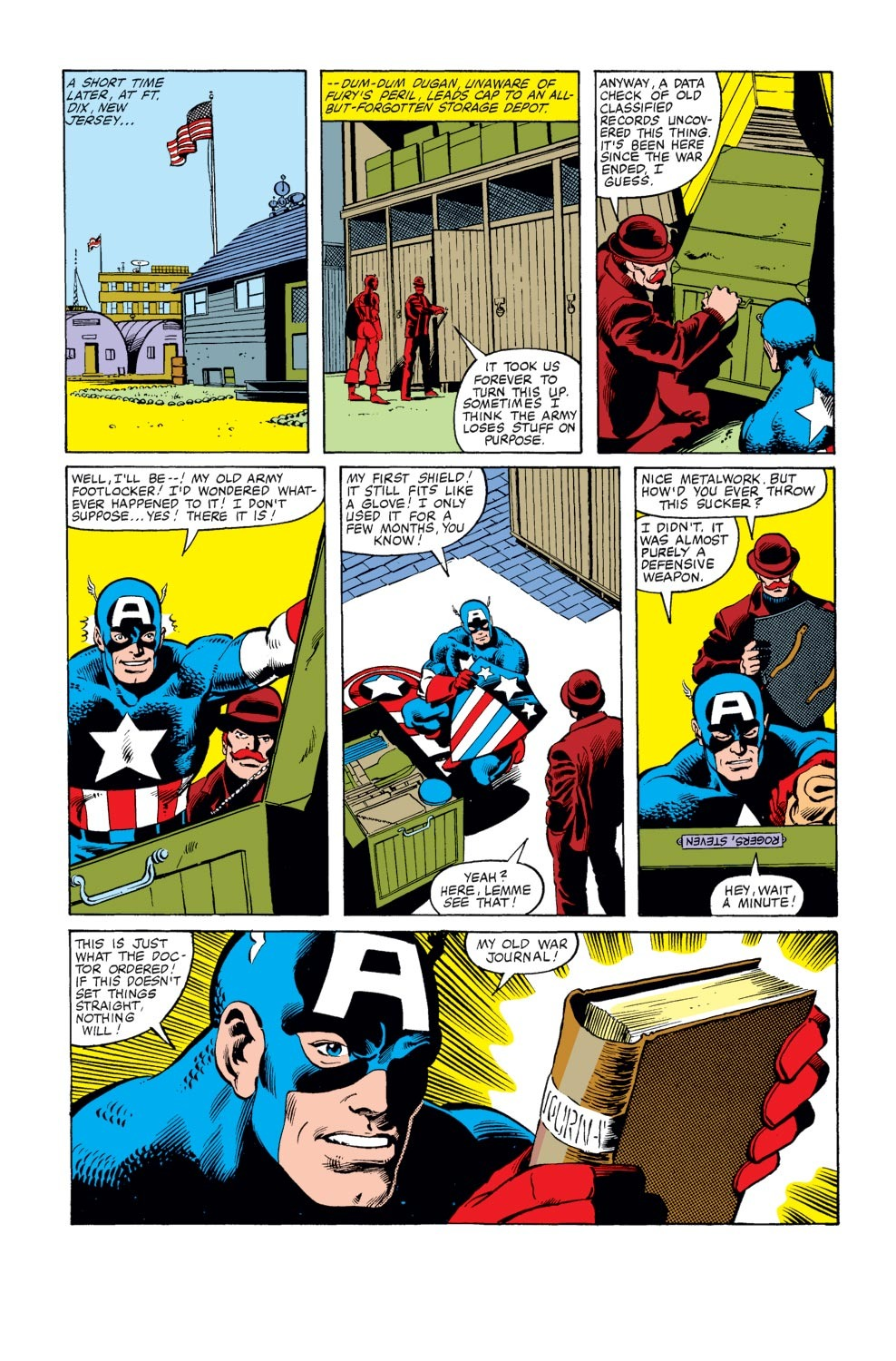 Captain America (1968) Issue #247 #162 - English 10