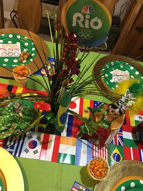 Rio Olympics Party! 2016