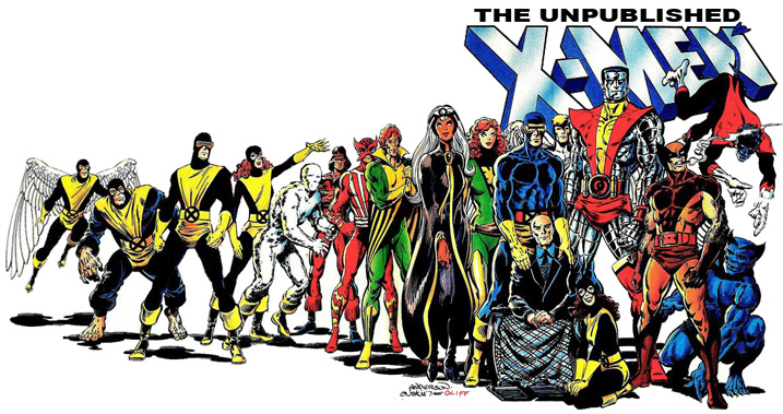 The Unpublished X-Men
