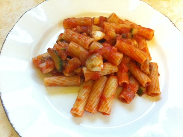 Everyday Food Rigatoni with Chunky Vegetable Sauce | Foodie in WV
