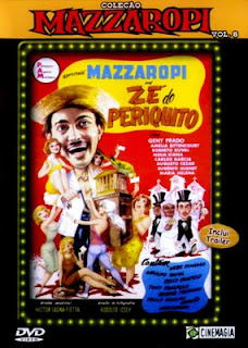 Mazzaropi : Zé do Periquito Nacional capa poster download baixar avi comedia