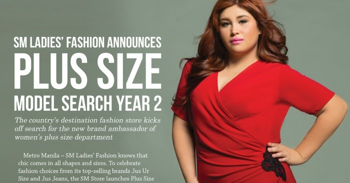 sm ladies plus size model search year 2 | fashion eggplant