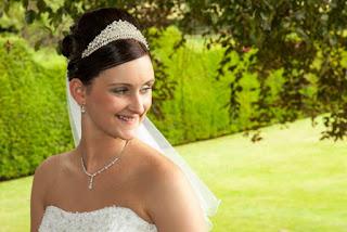 Radiant smiley bride