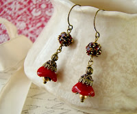 gypsey+red+glass+brass+earrings.JPG