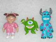 Meet Boo, Mike and Sully from Monster's Inc. All three characters are listed .