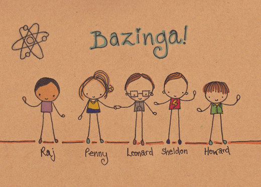 The Big Bang Theory por Pinkie-Perfect