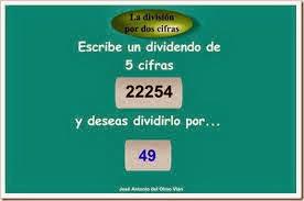 DIVISIONES DOS CIFRAS