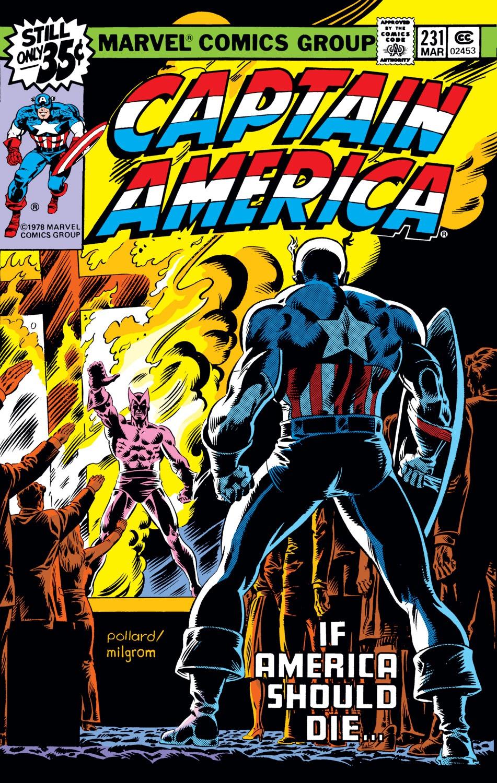 Captain America (1968) Issue #231 #146 - English 1
