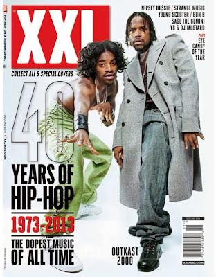 outkast portada de la revista xxl edicion especial 40 años de hip hop