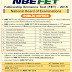 NBE FET 2016 (Fellowship Entrance Test) | www.natboard.edu.in