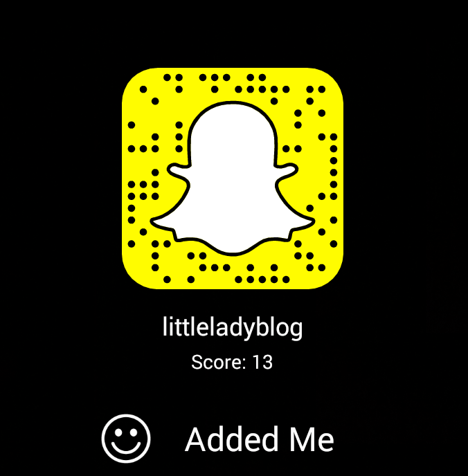 Snapchat - littleladylittlecity.com