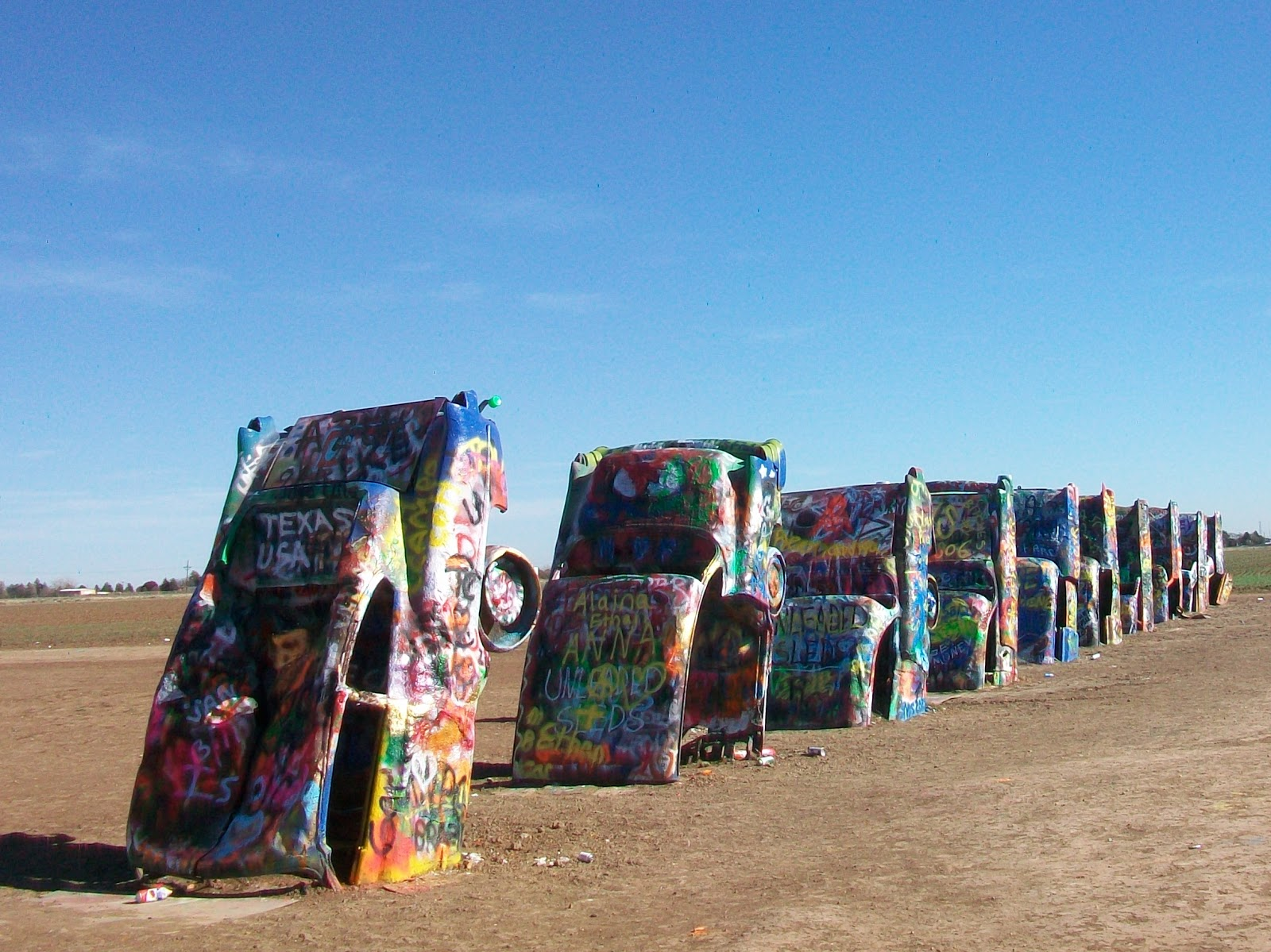 al and nita 39 s travels cadillac ranch amarillo tx. Cars Review. Best American Auto & Cars Review