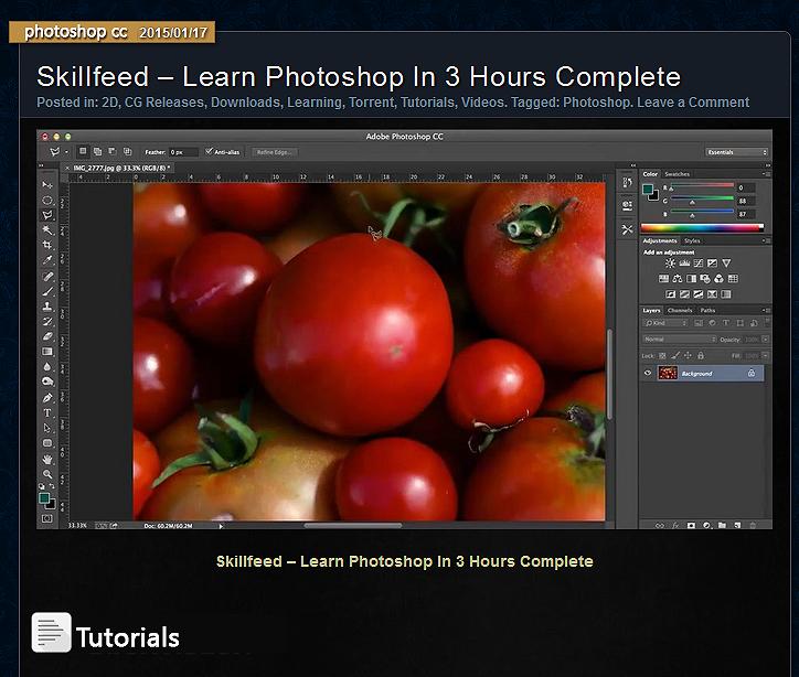 دروس فوتوشوب   تعلم الفوتوشوب بـ 3 ساعات