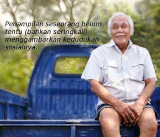 Kisah inspirasi, cerita motivasi, Ketika Bob Sadino Dikira Tukang Sampah