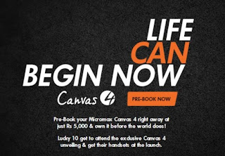 Micromax Canvas 4 Up for Preorder