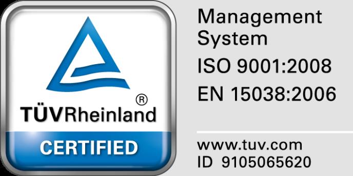 certificado calidad traducción