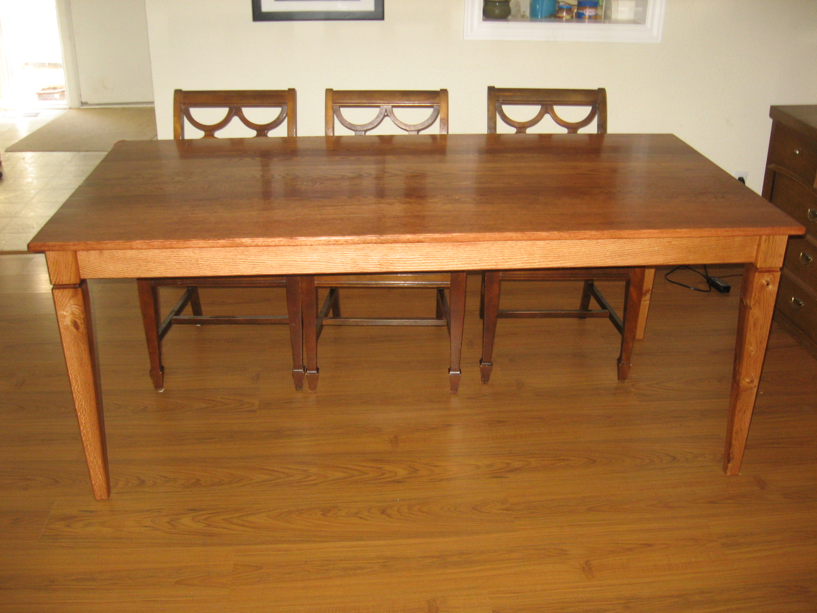 Red Oak Table
