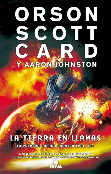 La Tierra en llamas de Orson Scott Card