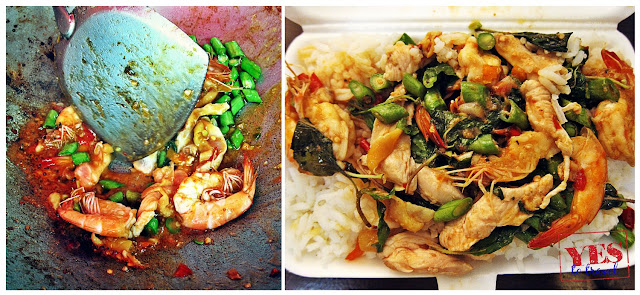 Thai Fried Rice with Shrimp - Khaosan Road