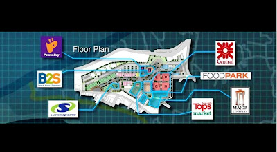 Central Festival Samui tentative floor plan