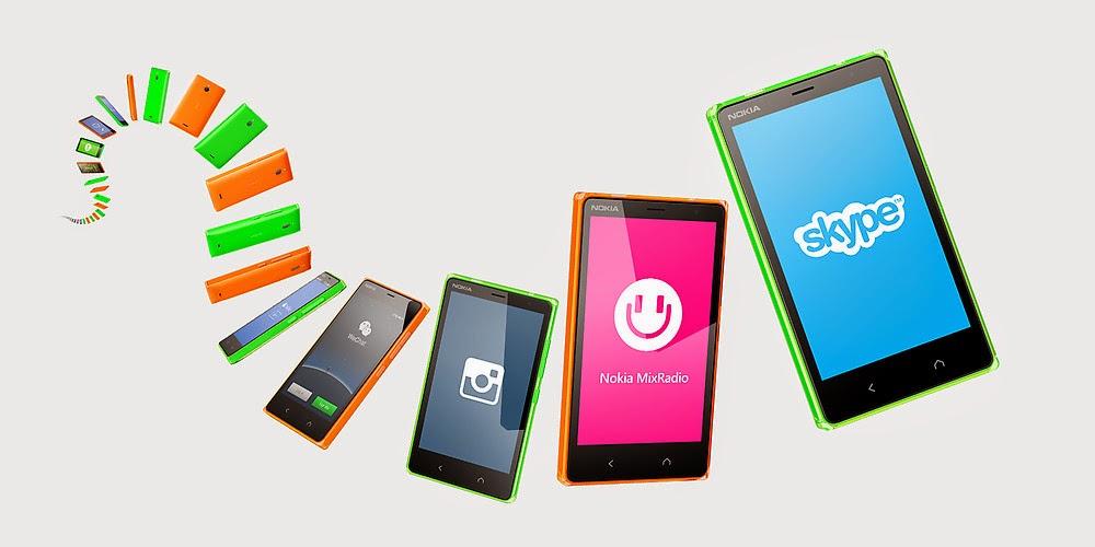 Warna-warni Nokia X2 Dual SIM