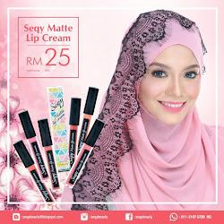 SEQY MATTE LIP CREAM RM25