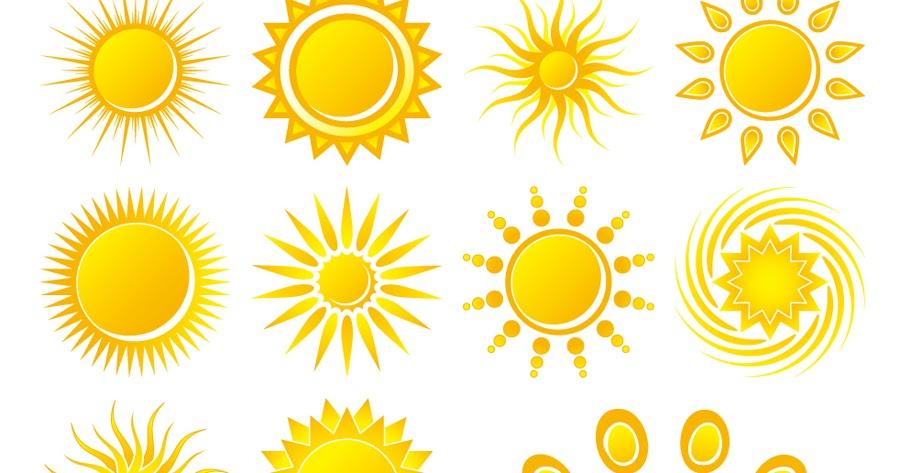 free vector �������� ������������ practical sun icon �������