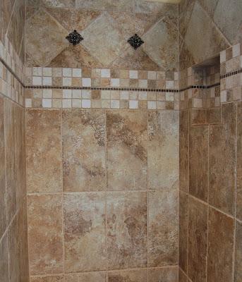 Bathroom Shower Porcelain tile