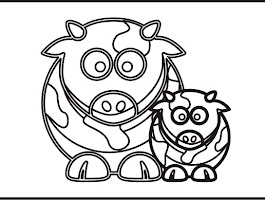 Free Coloring Pages Of Hamsters