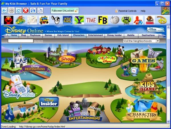 تحميل متصفح الاطفال My Kids Browser 2.0.6.0 مجانا