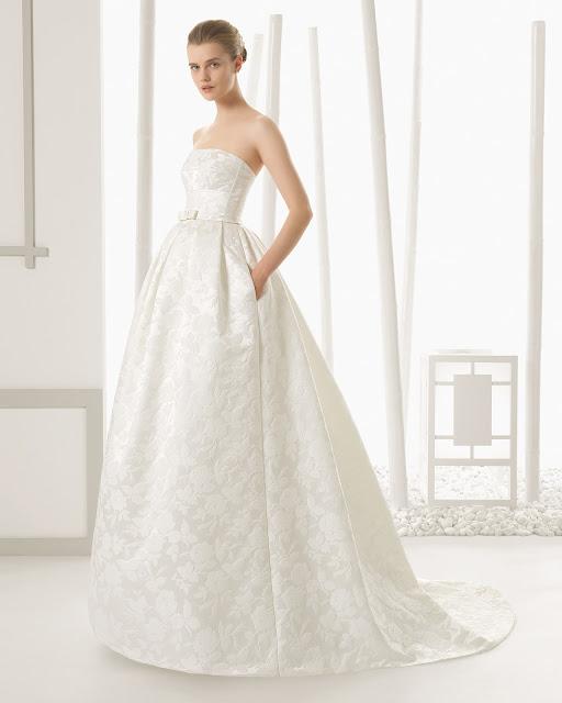 tipos de tela vestido de novia - moda nupcial - foro bodas
