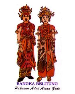 Baju Adat Tradisional Bangka Belitung