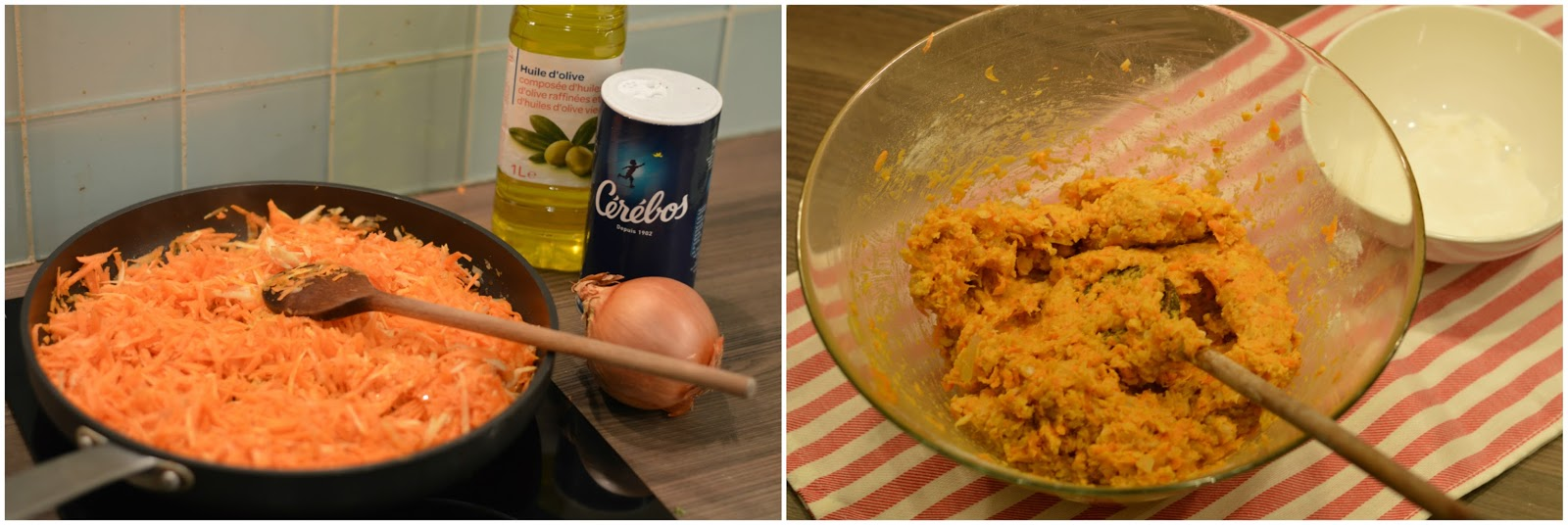 Vegetarian sweet potato and chickpea cakes burger patties recipe mixture