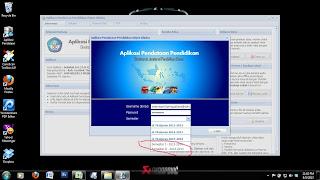 aplikasi pendataan Dapodik muncul Tahun Pelajaran 2013/2014
