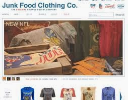 "30%, 50% Junk Food Clothing Coupons: Get 20% Off w/ Code ""JF91653"""