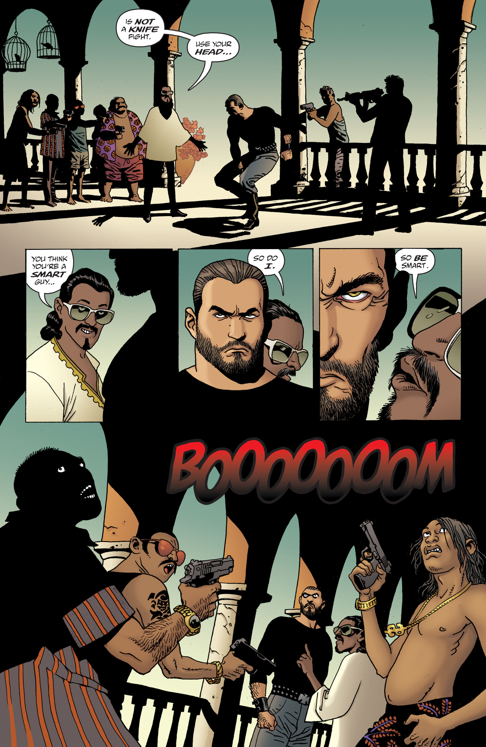 100 Bullets: Brother Lono Full Page 172