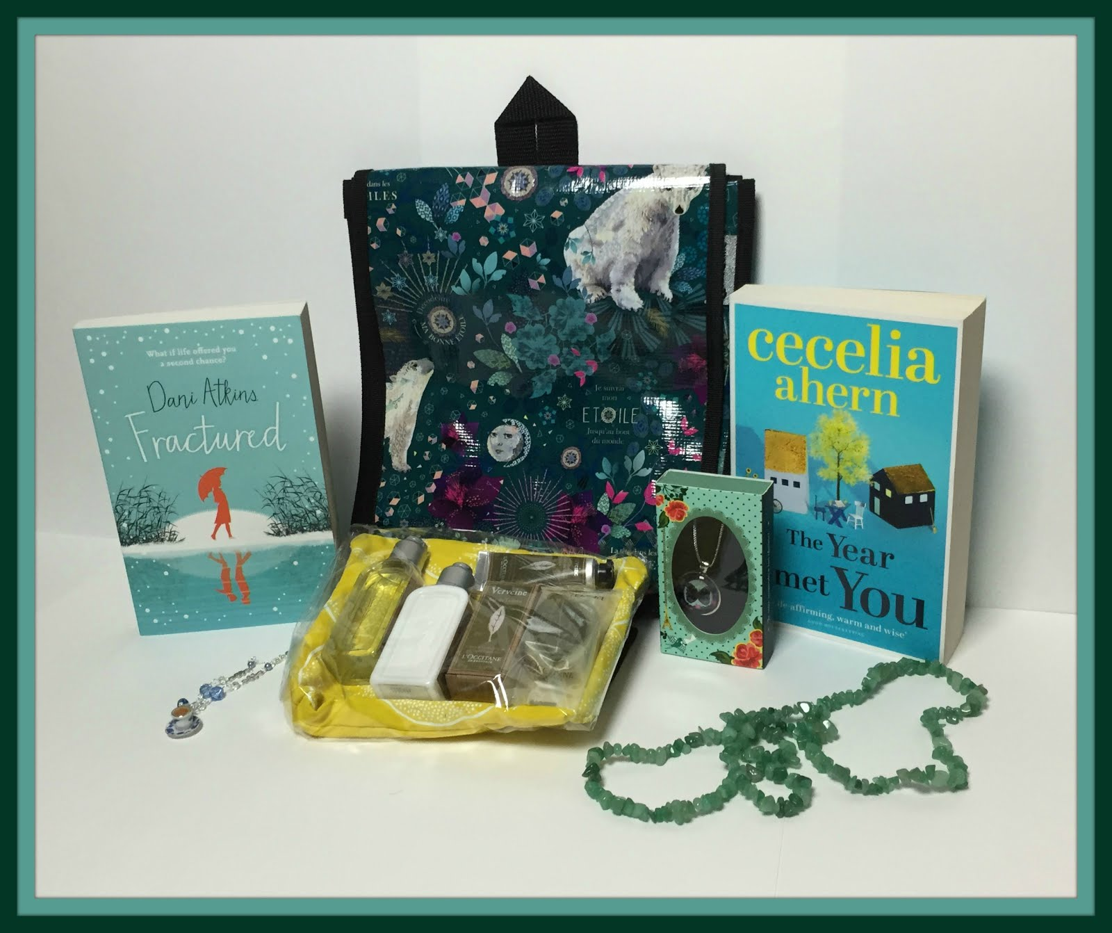 L'Occitane, Books, Rucksack & Necklaces