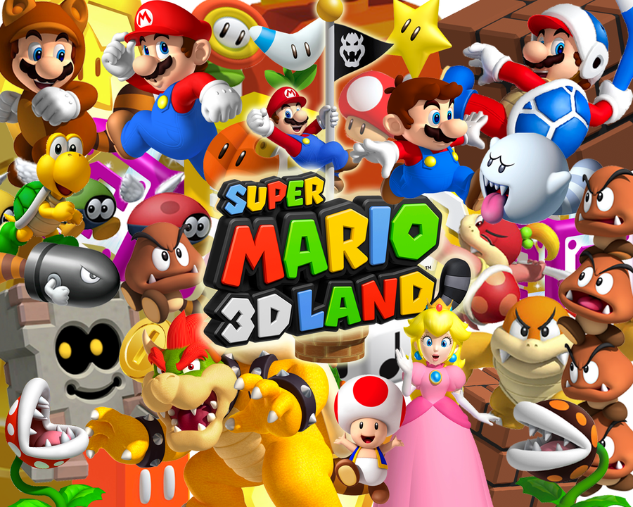 Super Mario HD & Widescreen Wallpaper 0.0362921335664899