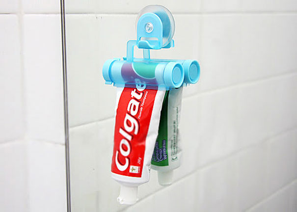 30 Insanely Clever Innovations That Need To Be Everywhere Already - Toothpaste Tube Squeezer