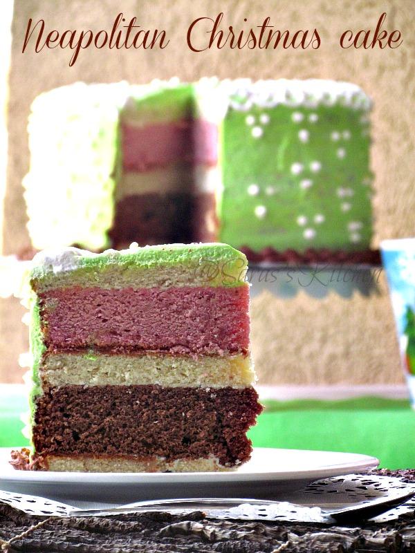 Neapolitan Christmas Cake