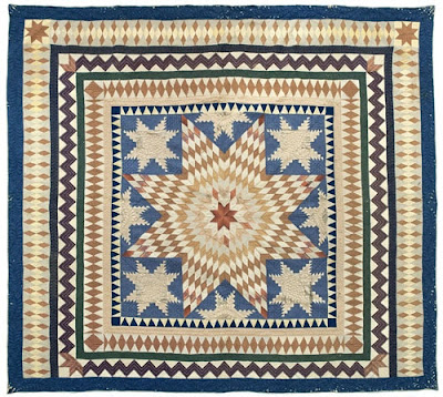Silk Lonestar Quilt Nina Fletcher Little