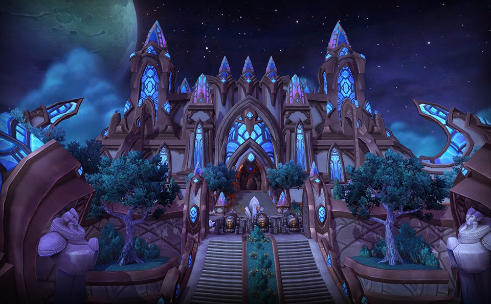 Temple of Karabor, Black Temple, Shadowmoon Valley, Warlords of Draenor, WoD, Alpha, WTBGold
