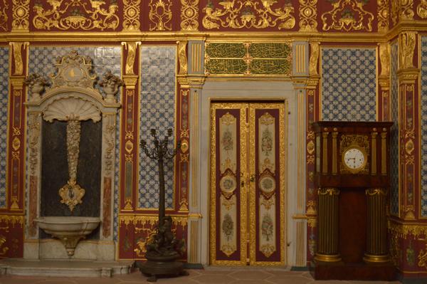 Topkapi palace inside